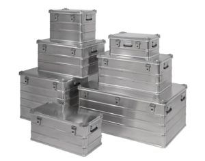 Aluboxen / Aluminiumboxen