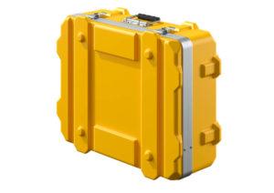 Transportkoffer gelb