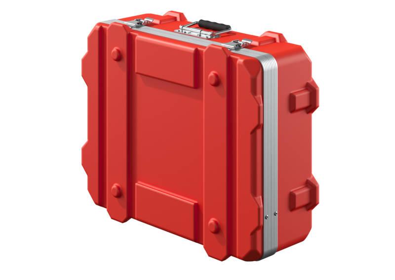 Transportkoffer rot