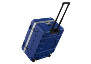 Trolley Koffer blau