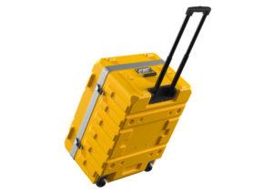 Trolley Koffer gelb